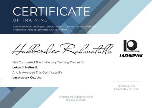Laseroptek RM