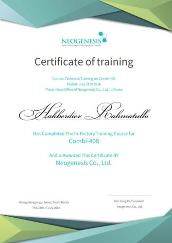 Neogenesis RM